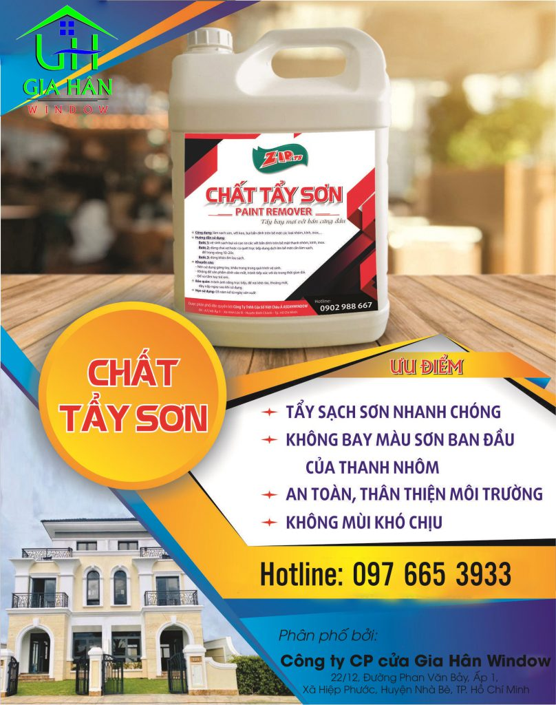Chat Tay Son Gia Han Window 1
