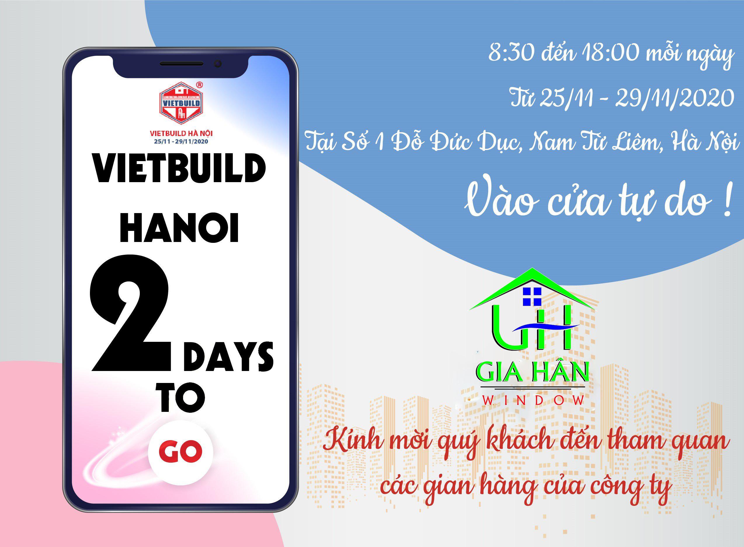 VietBuild Hà Nội lần 3 chính thức quay trở lại từ 25/11