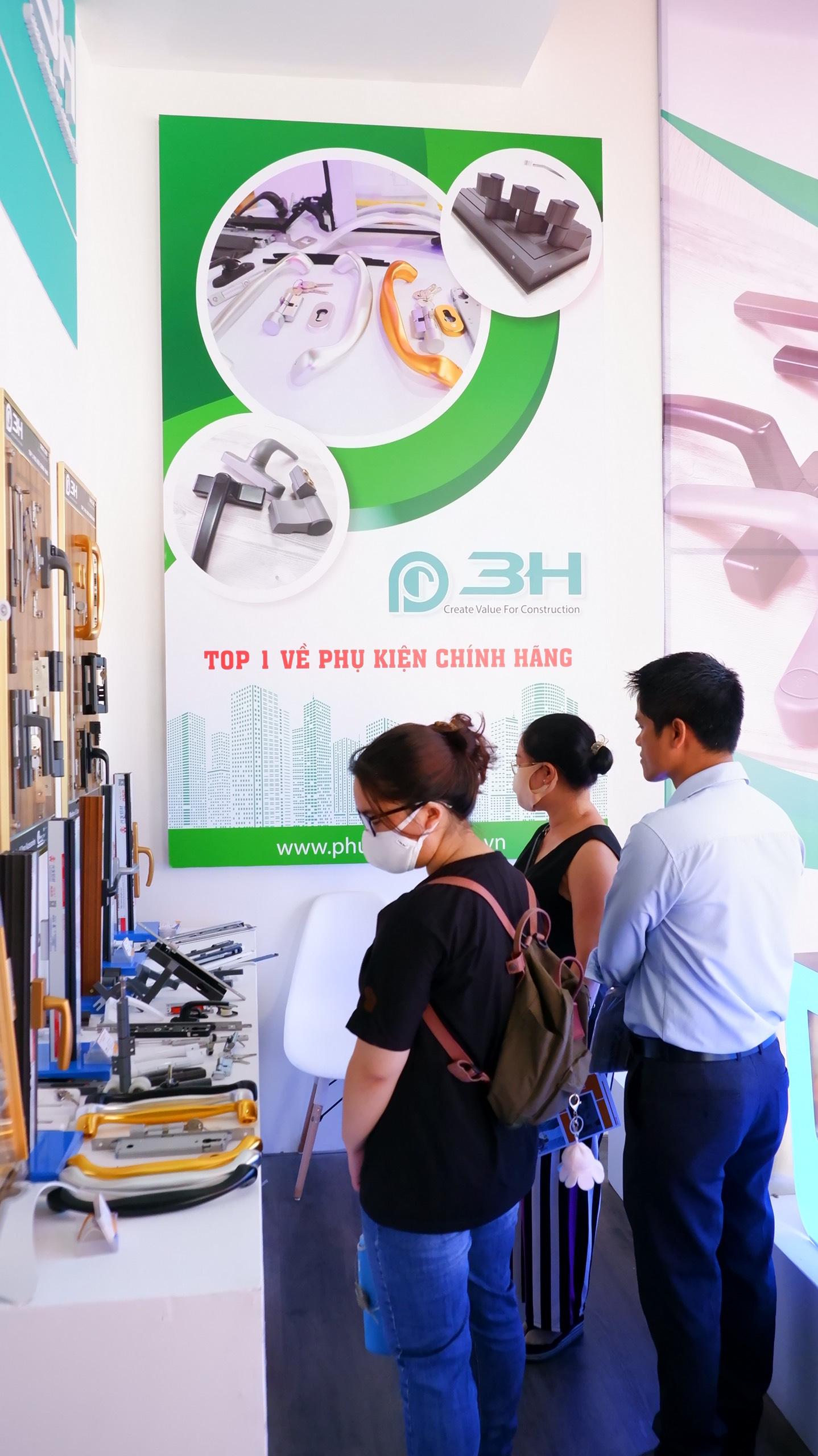 sự kiện Vietbuild Hồ Chí Minh 2021 lần 1