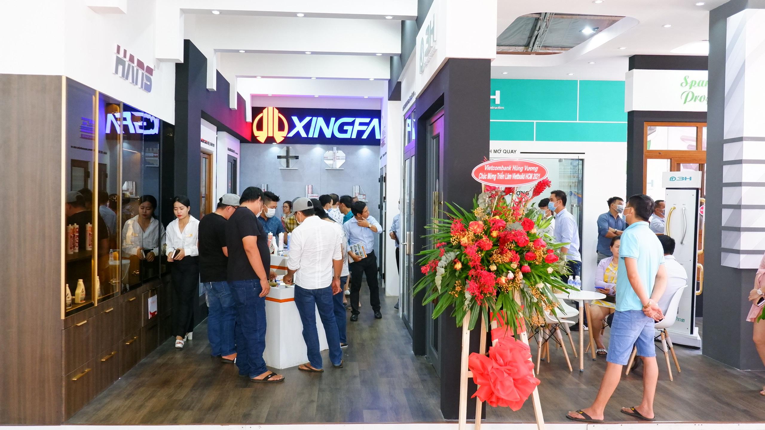Những hình ảnh tại ngày cuối cùng sự kiện Vietbuild Hồ Chí Minh 2021 lần 1